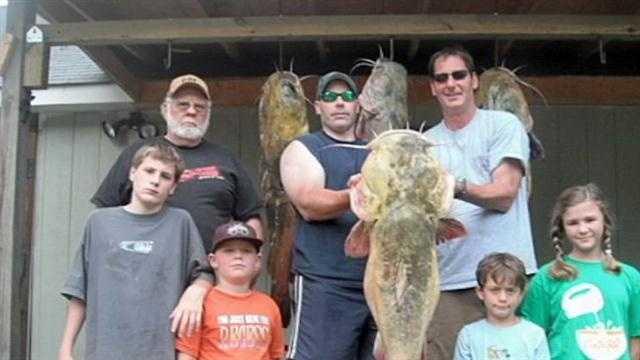 Catfish Grabbing
