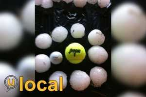 Check out more images of hail and upload your pictures to u local.