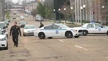 JPD was on lockdown immediately after the shooting.