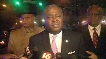 Mayor Harvey Johnson says Detective Smith was an excellent officer and was recognized as one of the city's best.