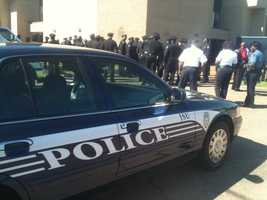 Officers came from all over Mississippi, and from some other states, to attend Smith's funeral.