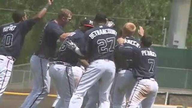 M-Braves win in walk-off fashion