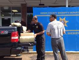 The Hinds County Sheriff's Office says a traffic stop resulted in the largest drug bust in the department's history.