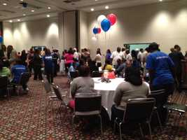 Flaggs supporters celebrated in Vicksburg.
