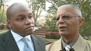 """Participants were asked, """"If the Democratic primary runoff election for mayor were held today, would you vote for Jonathan Lee or Chokwe Lumumba?"""""""