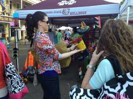 Hundreds of shoppers are expected Thursday at the Canton Flea Market.