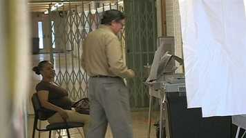 Lines were typically short and the process was fast for many voters.