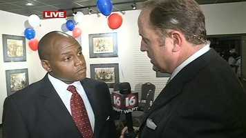 After his runoff loss Tuesday night, Jonathan Lee tells 16 WAPT's Scott Simmons that he will move forward and continue to work to improve the city of Jackson.
