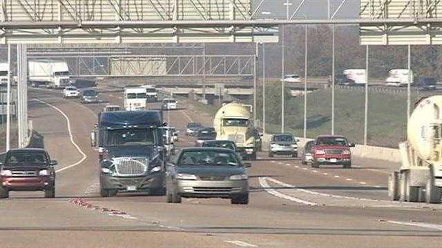 traffic interstate highway