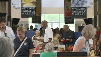 The Mississippi Farmers' Market at the fairgrounds was a recommended stop on the NY Times list.