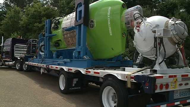 Deep Sea Challenger tour
