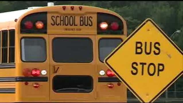 School generic school bus generic bus stop