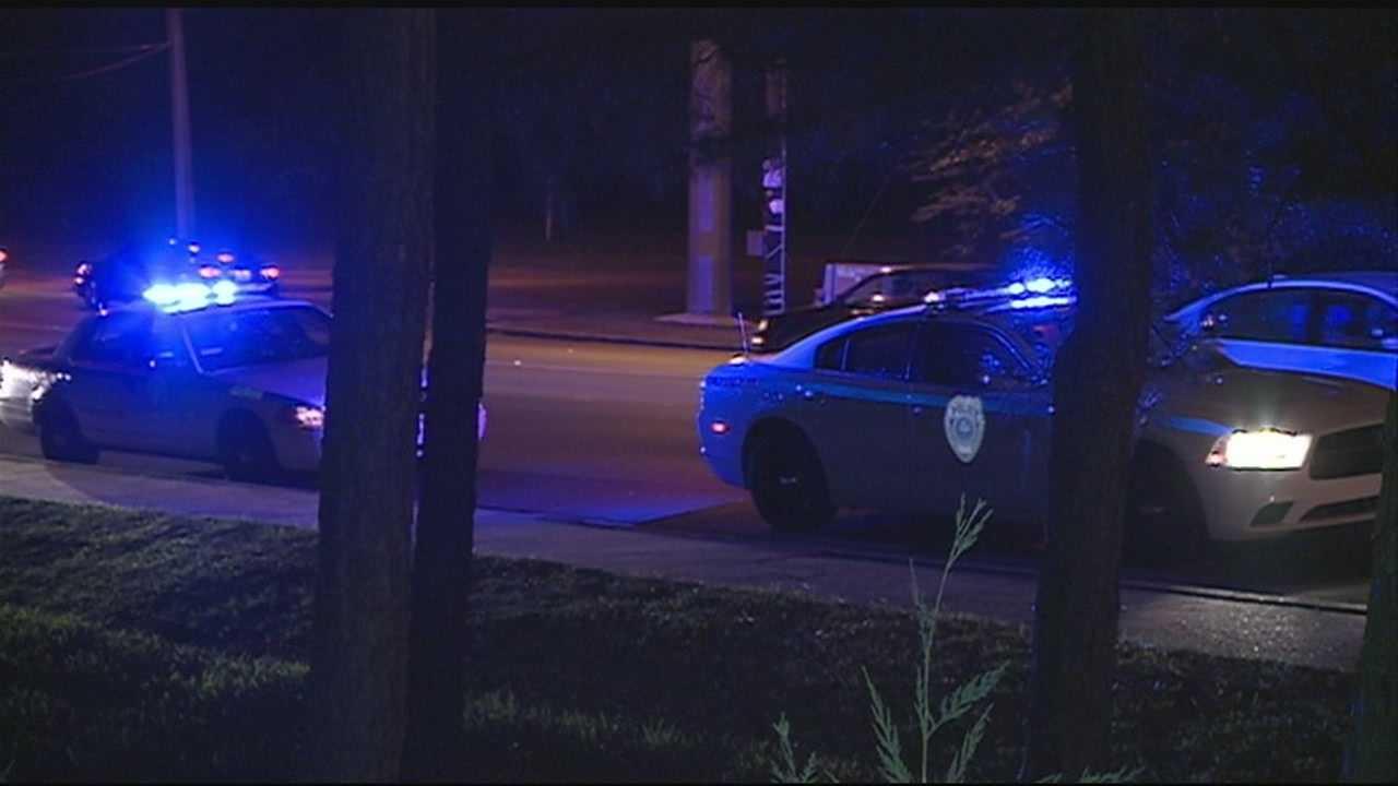 Police search for gunmen in home invasion