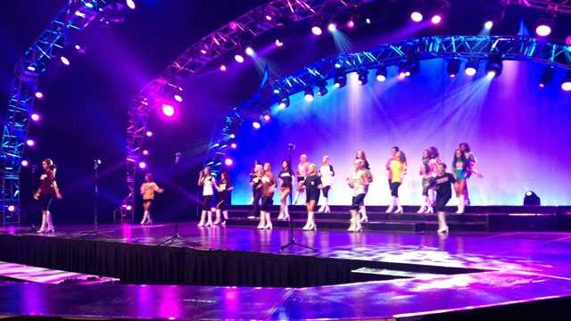 Miss Mississippi rehearsal