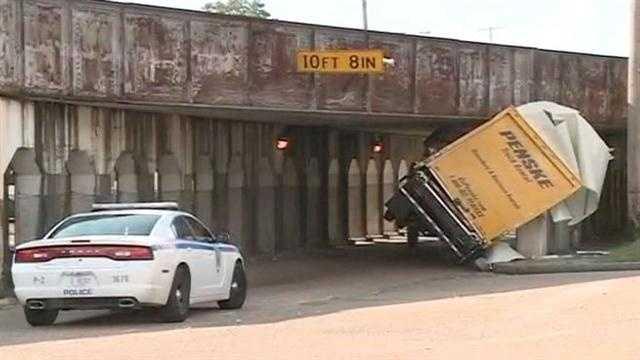 Truck stuck