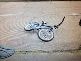 Neighbors said police told them that the suspected burglar rode this bike into the neighborhood.