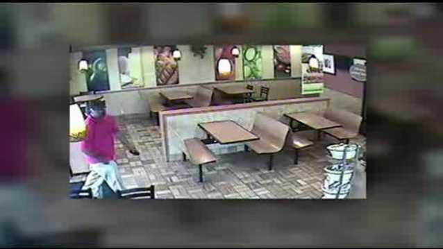 Subway robbery surveillance