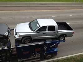The car carrier was headed to Jackson from Texas to pick up another vehicle, company officials said.