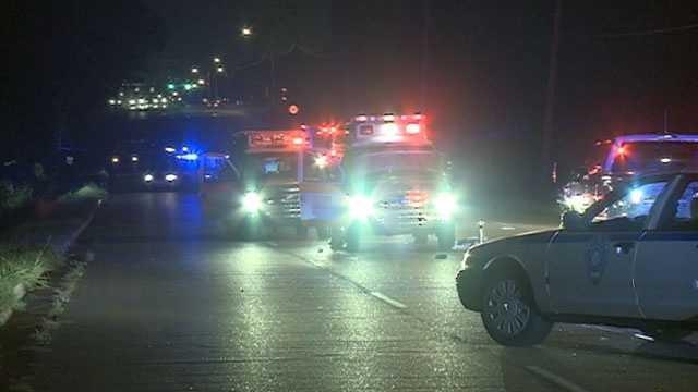 pedestrian killed paramedic injured 3