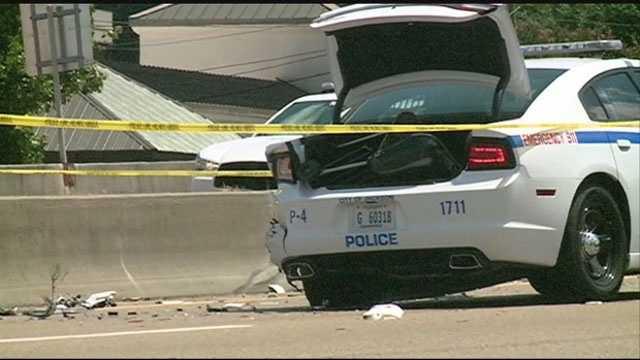 Bruce Jacob Crash scene officer killed