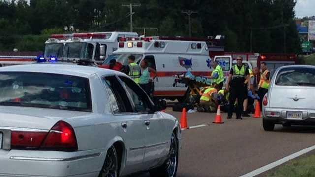 Man in wheelchair hit by car