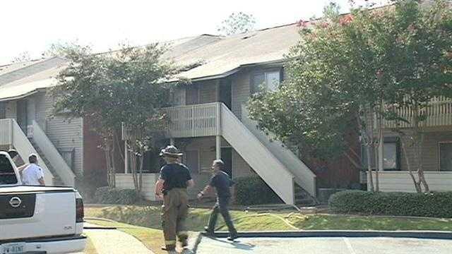 Park at Moss Creek apartment fire