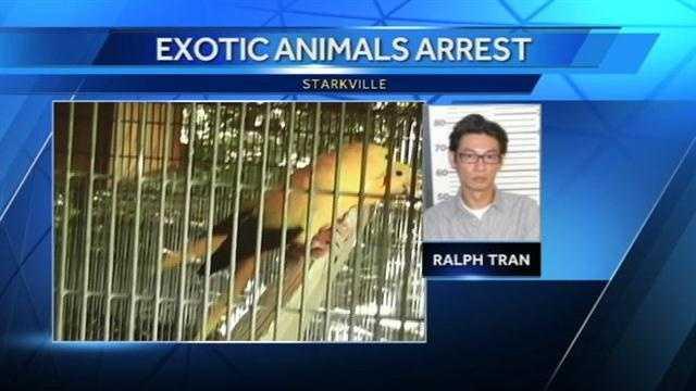 Ralph Tran and exotic animals