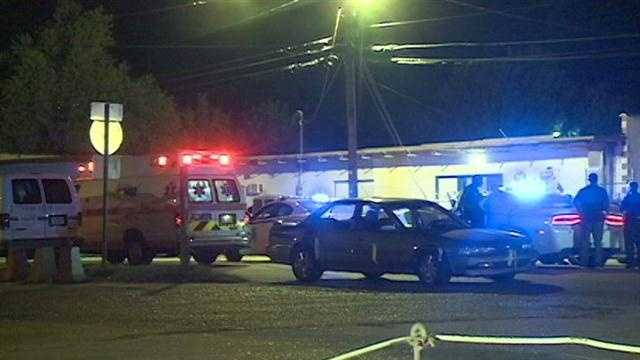 Police say a 28-year-old was shot and killed on Wilmington Street.