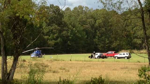 helicopter down in madison county