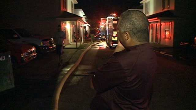 County Cork Road duplex fire 1