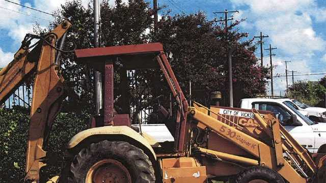 Heavy equipment stolen