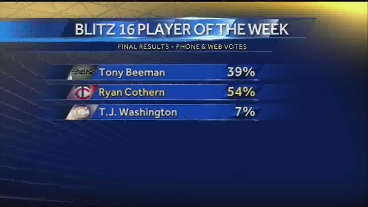 BankPlus, Blitz 16 Player of the Week: Ryan Cothern