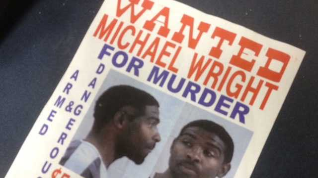 Michael Wright wanted poster