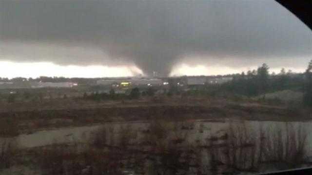 tornado on cam