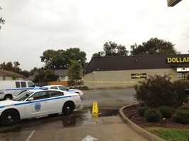The incident began about 8:30 a.m. Thursday at the Dollar General at 2808 Robinson Road, police said.
