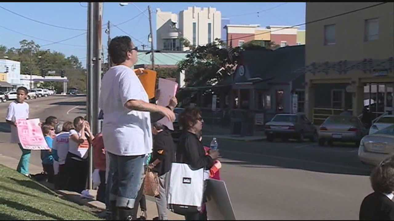 Abortion Protest in Jackson