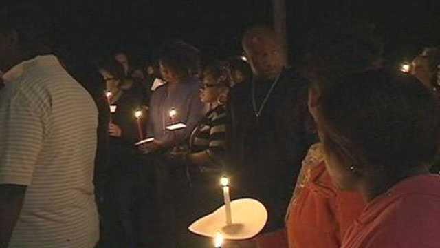 Missing family vigil