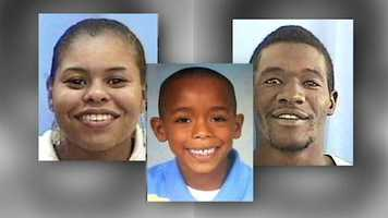 The bodies of Atira Smith, her son 7-year-old Jaidon Hill and her husband, Laterry Smith, were found several days after they went missing.