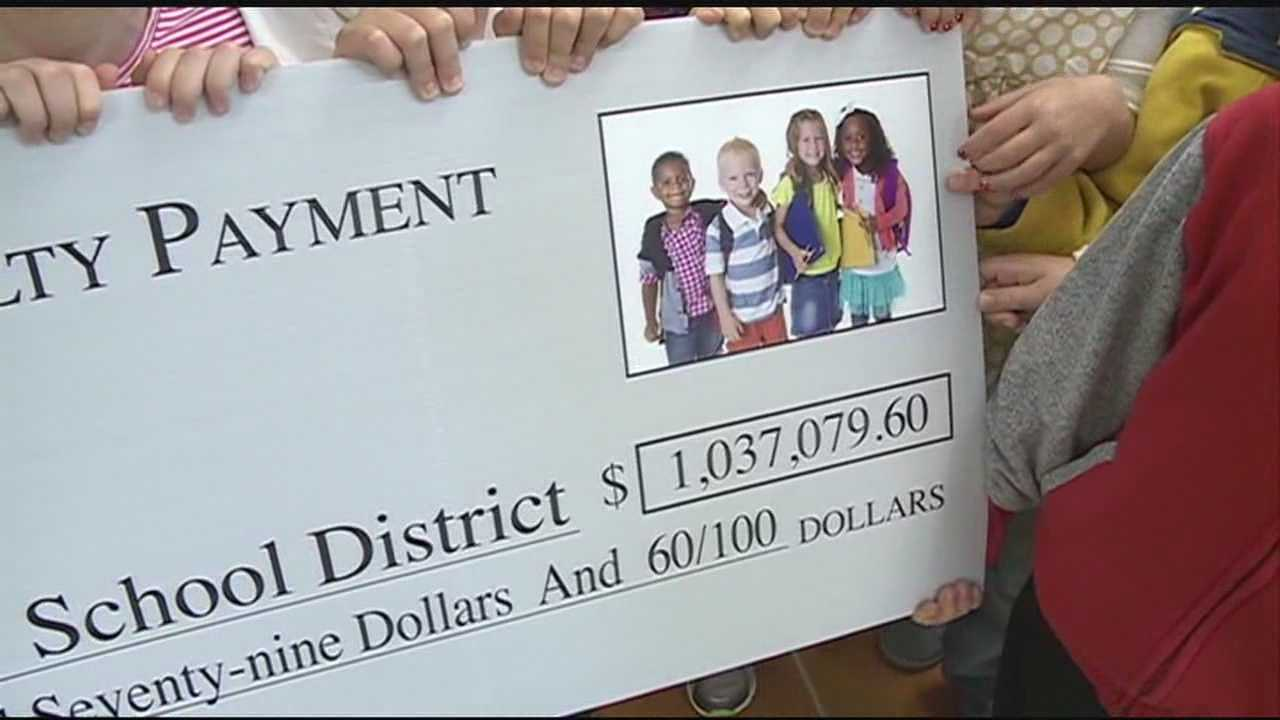 The Rankin County School District just got a huge payday, but it was already the district's money.