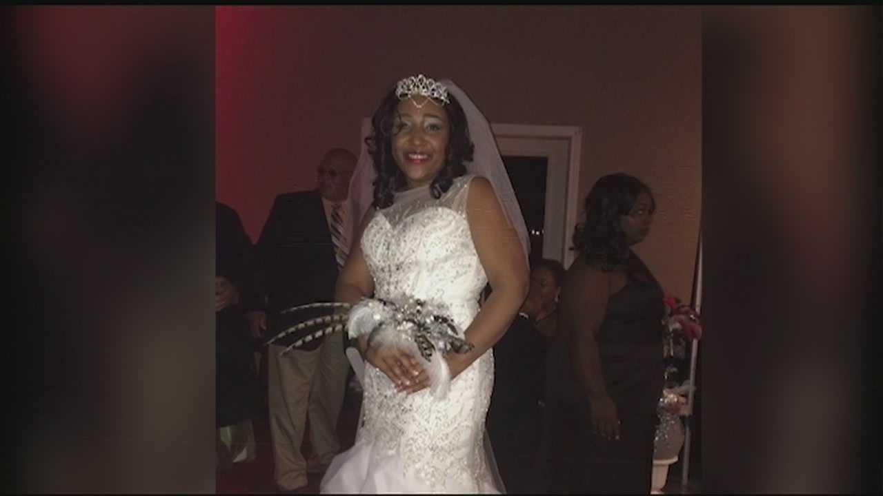 stolen wedding dress