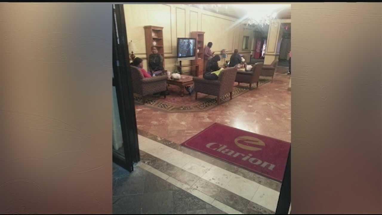 Clarion hotel evacuation