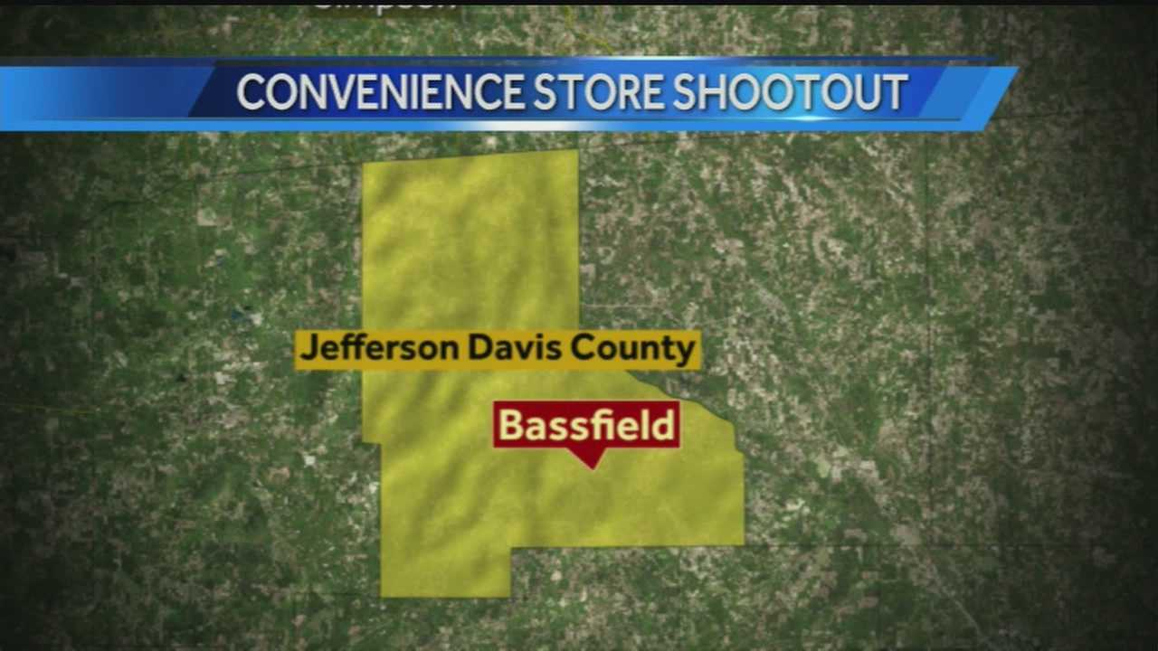 Bassfield shooting map