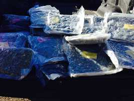 The Hinds County Sheriff's Office confiscates 30 pounds of marijuana.