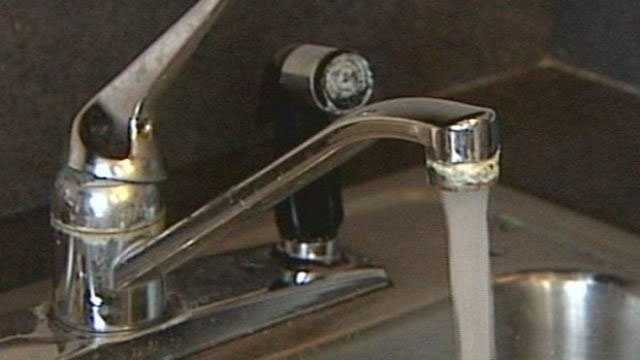 water faucet sink boil water alert