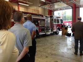 This is the third fire station in Clinton.