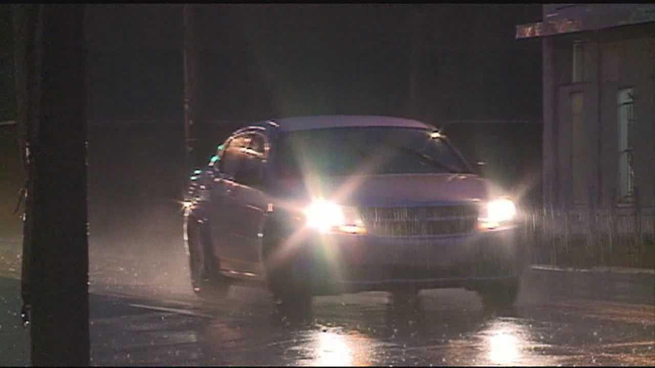 Constant rain harms roads