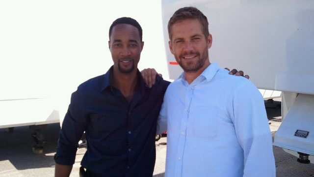 Local actor and Paul Walker