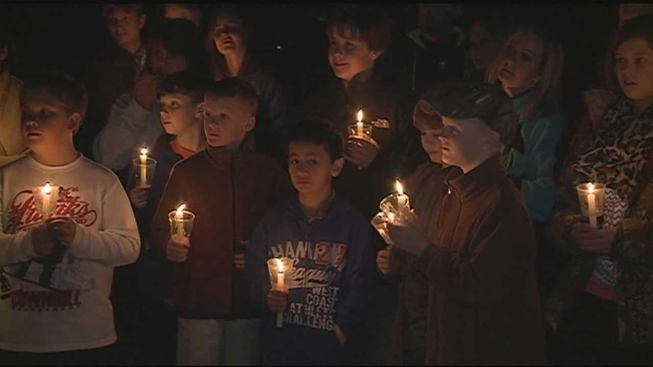 Vigil for Isaac Trevino