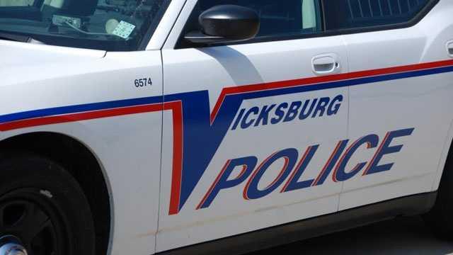 Vicksburg Police car
