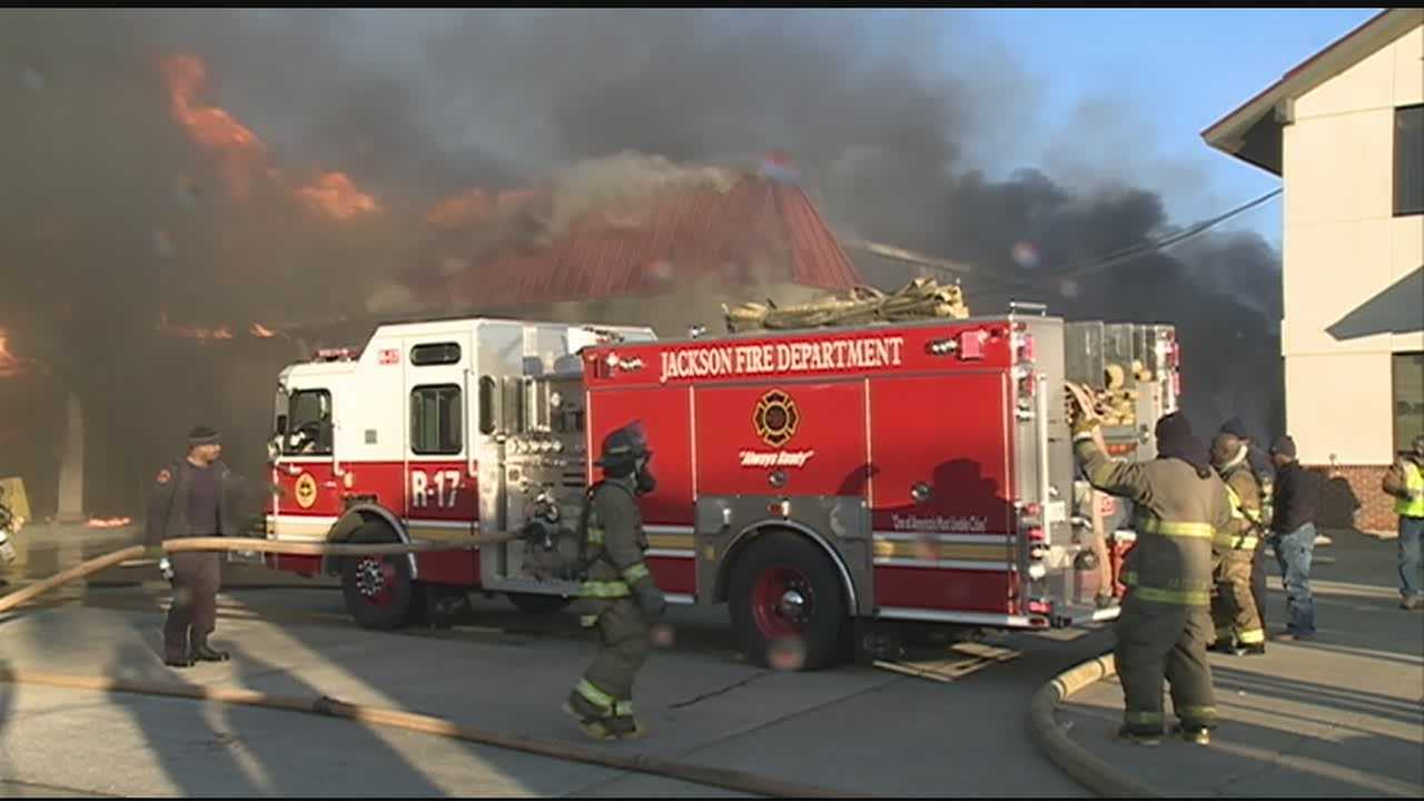 Fire destroys Salvation Army Thrift Store